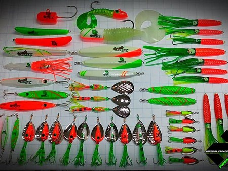 Lures and Jigs for CarrotStix! 6723 lures and jigs 1